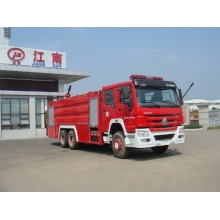 Howo foam fire engine truck equipment images free