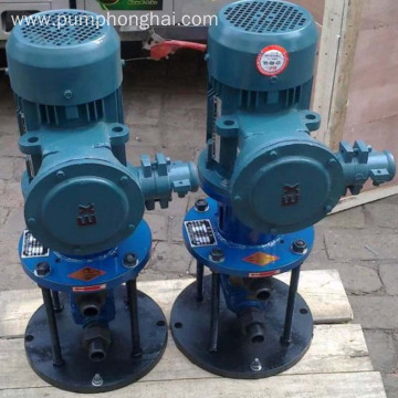 3G series vertical oil transfer three screw pump