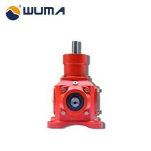 WUMA machinery 2: 1 ratio gearbox Serie T de reductor de engranaje cónico