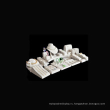 Поп PU стенд Дисплей ювелирных изделий Витрина оптом (Ср-м2)