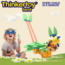 Творческая Обучающая Дошкольная Стронг Игрушка Блока для Детей