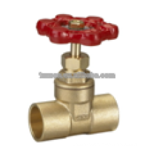 Brass Gate Valve standard port Lead free 200PSI weld end