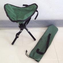 Cadeira de pesca dobrável confortável e leve