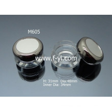 Mini Round Wholesale 5g Clear Cosmetic Jars