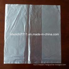 LDPE Transparent Plain Plastic Bag with Side Gusset