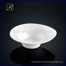Porzellan Tropfen Wasserform Saucer Gericht Snack Gericht für Buffet verwenden