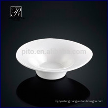 Porcelain drop of water shape saucer dish snack dish for buffet use