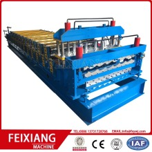Double layer IBR roof metal forming machine