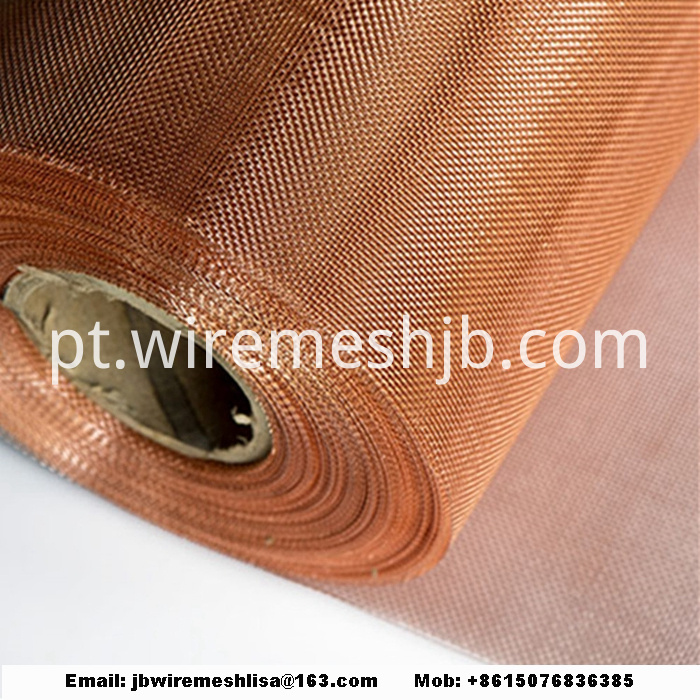 Phosphor Bronze/Red Copper/Brass Wire Mesh