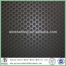 cheap round hole perforated carbon fiber sheet