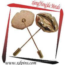 Pinces à aiguilles en métal avec la meilleure qualité pour les couples