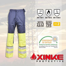 fireproof pants with high tear strength