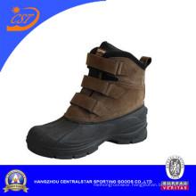 Suede Leather Waterproof Men Snow Boots