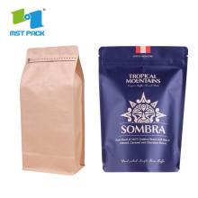 ปรับแต่งการพิมพ์กาแฟพลาสติกกรองอลูมิเนียม Foiled Bag