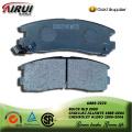 SEMI-METALLIC BRAKE PAD  FOR BUICK GL8 MPV 2000-