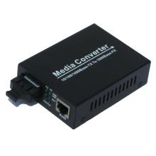 Convertidor de medios de fibra Gigabit