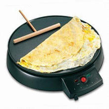 Cooker/Pancake Maker with 30cm Diameter for Real Gourmet Crepes