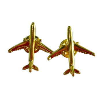 Broches Delicate Small Airplane Unisex