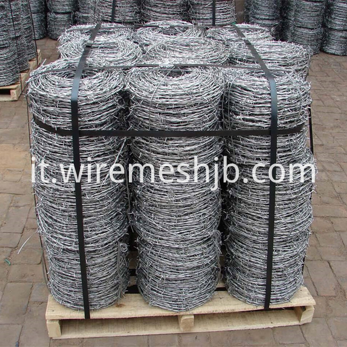 Galvanised Barb Wire