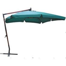 Guarda-chuva de madeira antigo forte Cantilever Square Garden