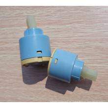 cartucho cerâmico plástico 45mm do faucet de água quente e fria
