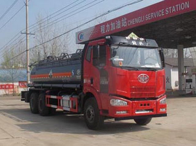 FAW Chemical Liquid Tank Truck