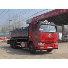 FAW 6X4 13CBM Chemical Liquid Tanker Truck