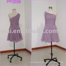 Vestido de partido moldeado atractivo 2010 de las muchachas de la fabricación pp2036