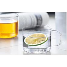 Hitzebeständiger transparenter Glas Kungfu Teetasse für Großhändler