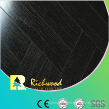 Household 12.3mm E1 Mirror Walnut Waterproof Laminate Floor