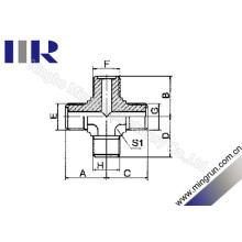 Adaptateur hydraulique métrique mâle à joint torique mâle (XE)