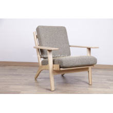 Wegner Classic 290 Easy Chair-plankbank