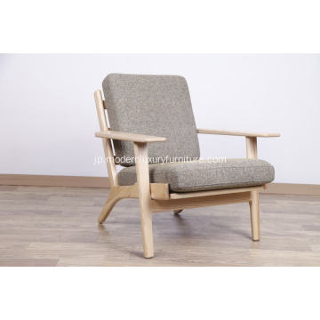 Wegner Classic 290 Easy Chair Plankソファー