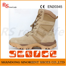 Suede Leather Military Boots for Police Man