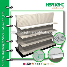 wholesale supermarket steel boutique display shelving