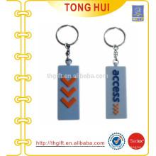 Billige kundenspezifische schlüsselanhänger PVC