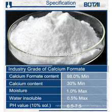 Calcium formate for industry dry mortar