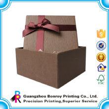 Benutzerdefinierte Luxus Leder Storage Karton Papier Uhr Verpackung Box