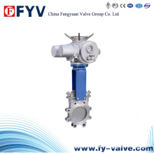 Stainless Steel Electric Actuated Knife Gate Valve