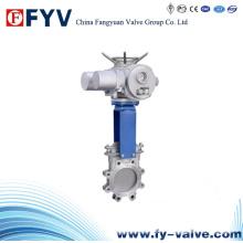 Válvula de Atuação de Faca Elétrica de Aço Inoxidável