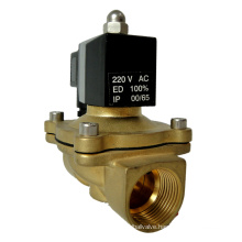 KLQD 2W250-25S Direct Acting Normally Closed Brass 1inch Air Water Solenoid Valve