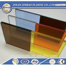 Matériau de meubles en gros panneau de mur en plastique givré