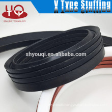 High demand Viton nbr rubber seals Fabric rubber vee packing set v stuffing sealing rings group