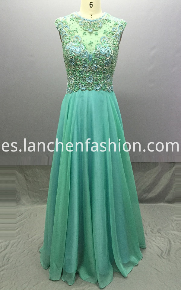 Long Chiffon Formal Dresses