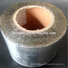 kalt aufgetragenes Aluminium-Butyl-Klebeband imprägniern selbstklebendes Klebeband für Öffnung und Ecke