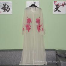 Vente en gros de vêtements islamiques pour femmes Habs Pakistanais simple Abaya