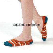 Corte baixo de homens tornozelo sem meias de barco invisível de algodão Show