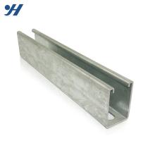 Bau-Material-Zink galvanisierte Stahl-hohe Qualität C-Kanal-Stahlschiene