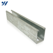 Construction Material Zinc Galvanized Steel High Quality C Channel Steel Rail
