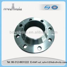 Brida de cuello de soldadura de baja presión DIN 2632 de acero al carbono
